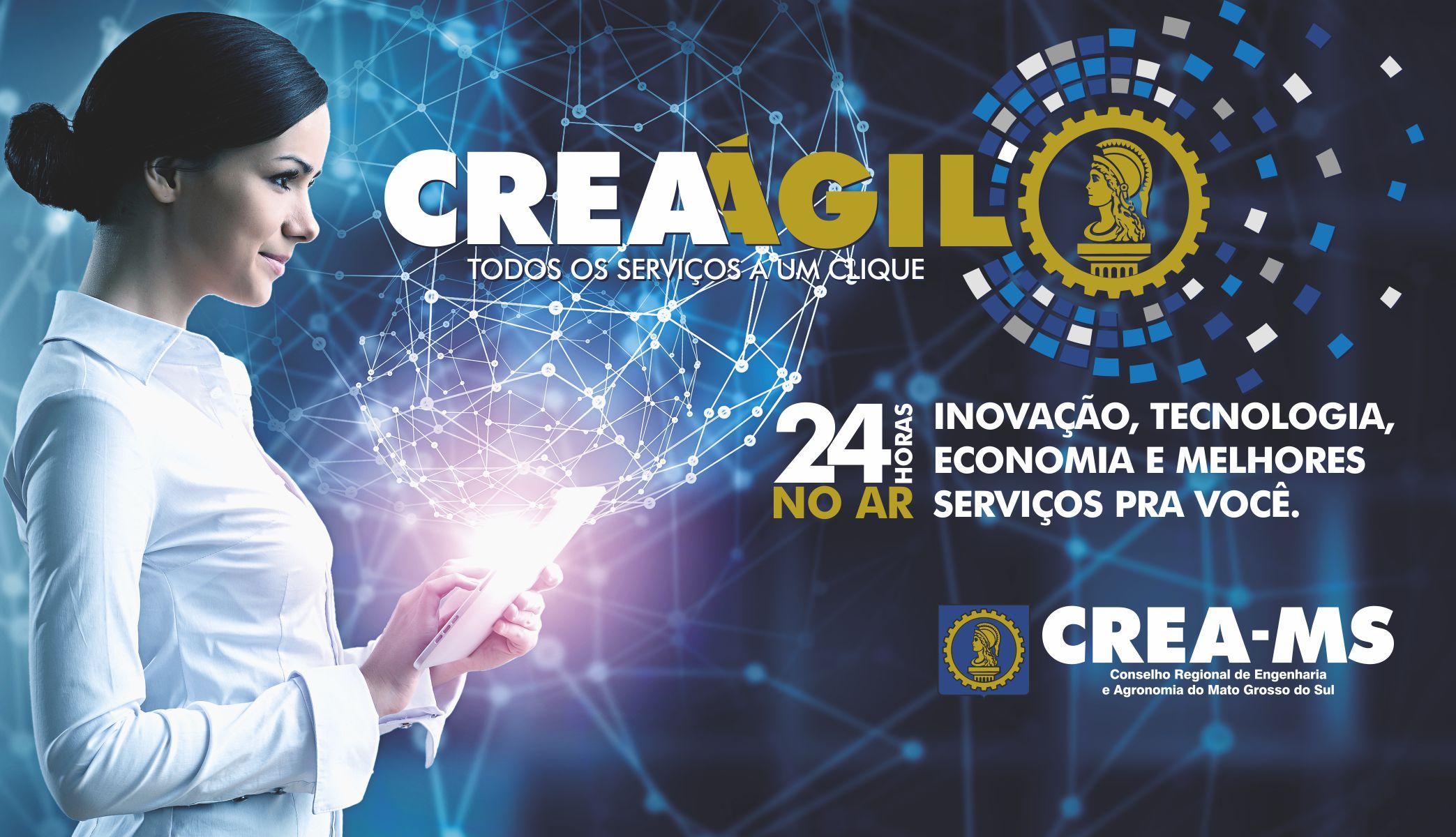 painel 4 x 2,3m - CREA ágil
